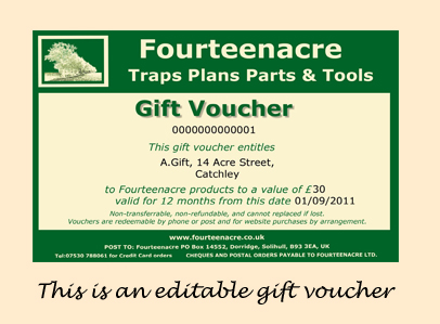 Marketing ideas for small businesses - DIY Gift Vouchers