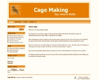 Cagemaking.co.uk Website