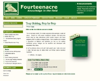 Fourteenacre.co.uk Website