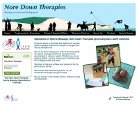 NoredownTherapies.co.uk website